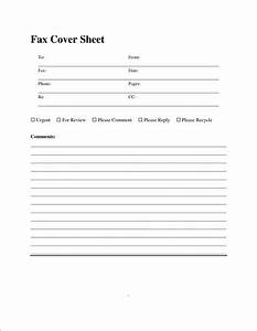 6 general fax cover sheet