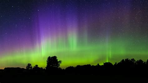 can you see northern lights in michigan