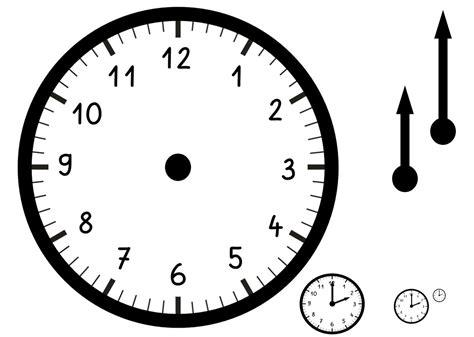 Erfreut Uhr Vorlage Zeitgenössisch  Ideen Fortsetzen