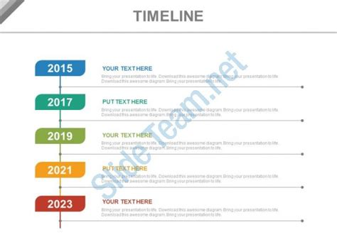 vertical timeline template year based vertical timeline for business powerpoint slides powerpoint shapes powerpoint