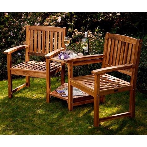 Garden Furniture Seats by Greenfingers Alnwick Companion Seat On Sale