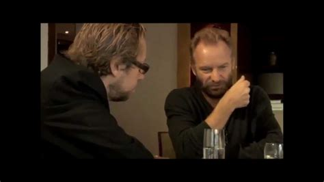 Sting Talks About Ayahuasca