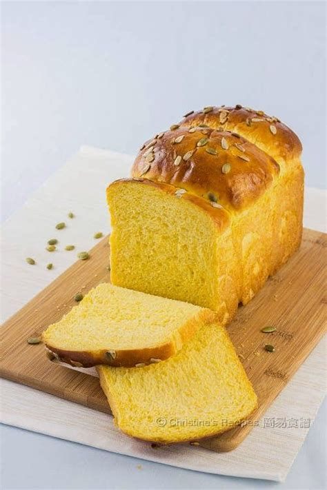 Japanese Pumpkin Bread Recipe by Tangzhong Pumpkin Loaf Pumpkins Pumpkin Loaf And Photos
