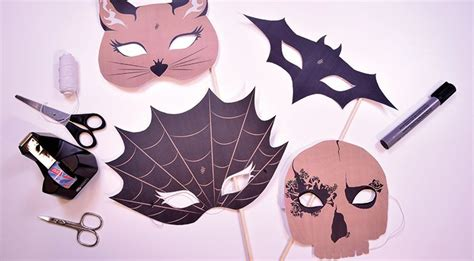halloween maske selber machen eine easy step  step