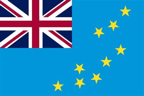 """4"""" x 6"""" Tuvalu Flag"""
