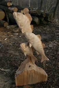 Fische Aus Holz : tiere mit der kettens ge geschnitzt fische pinterest holz schnitzen schnitzen und kettens ge ~ Buech-reservation.com Haus und Dekorationen