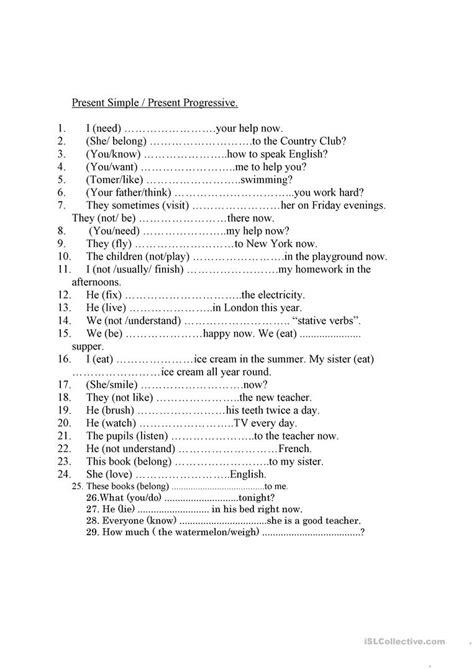 stative verbs worksheet free esl printable worksheets made by teachers