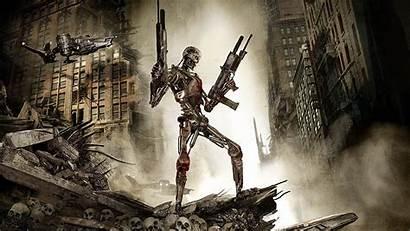 Terminator Action Film Sci Fi Wallpapers Robot