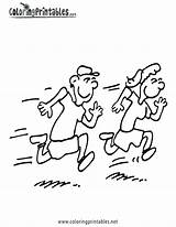 Running Coloring Pages Children Drawing Track Jogging Run Race Boy Kid Fast Getdrawings Clip Getcoloringpages Person sketch template