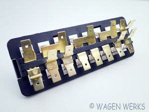 vw bug fuse box  fuses    ebay
