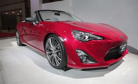 Toyota Scion Convertible by Toyota Ft86 Previews A Scion Fr S Convertible Again