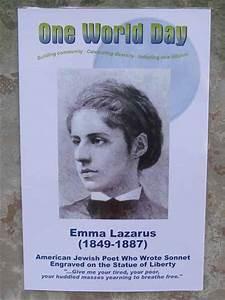 Emma Lazarus Bi... Emma Lazarus Famous Quotes