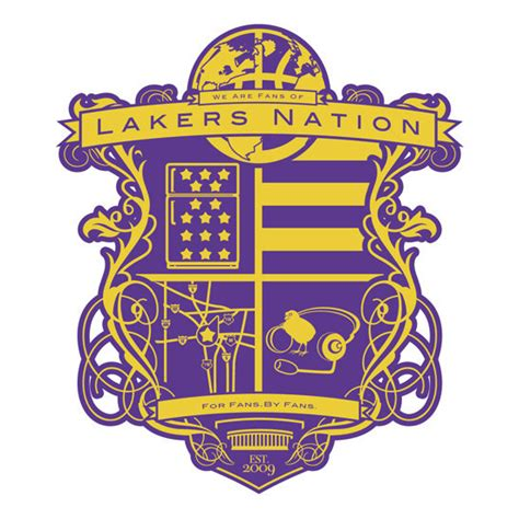 Lakers Nation Logo   Los angeles lakers, Lakers, Lakers kobe
