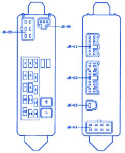 Mazda Atenza Fuse Box Block Circuit Breaker Diagram