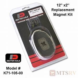 Dexter Axle Magnet Kit For 12 U0026quot  X 2 U0026quot  Brakes