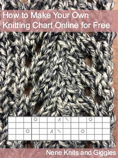Knitting Own Chart Tutorial Charts