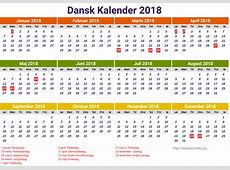 Kalender 2018 Danmark Related Keywords Kalender 2018
