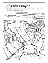 Canyon Grand Coloring Clipart Arizona Pages Clip Ben Sheets Trip Hicks Mark Artist Gila Adult Road Activities Illustrator Desert Drawing sketch template