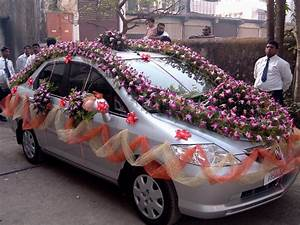 Weeding Car Decorated In India - Decorating Of Party
