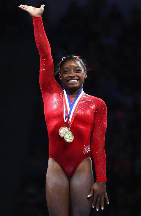 Simone Biles's Superhuman Accomplishments   InStyle.com