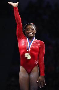 Simone Biles's Superhuman Accomplishments InStyle com