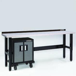 craftsman  premium heavy duty workbench  stainless