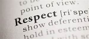 What is a Respe... Respect Definition