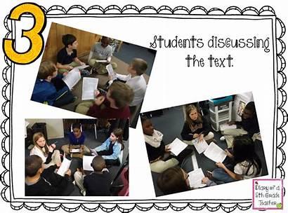 Social Students Reading Studies Cartoon Grade 5th