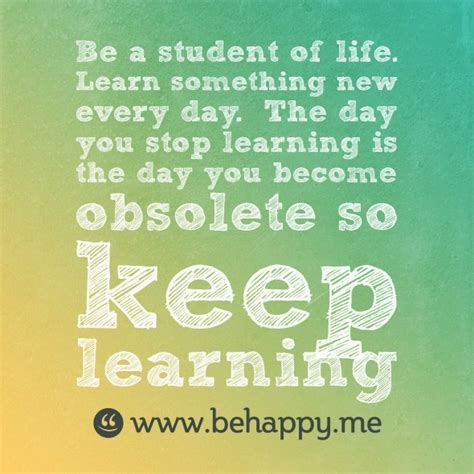 Keep Learning Quotes