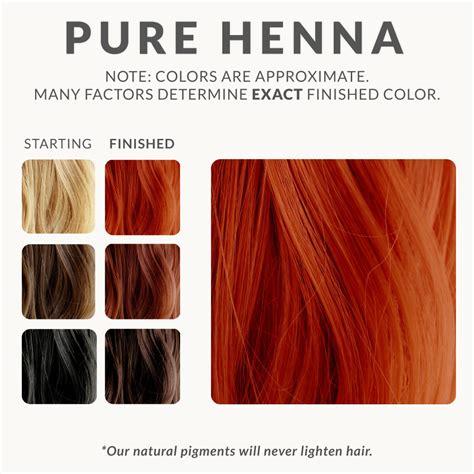 Pure Henna Hair Dye Henna Color Lab Henna Hair Dye