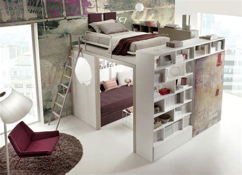 lit avec bureau pour fille chambre pour fille
