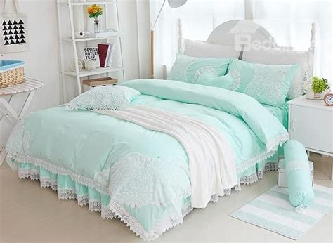 17 best ideas about mint green bedding on