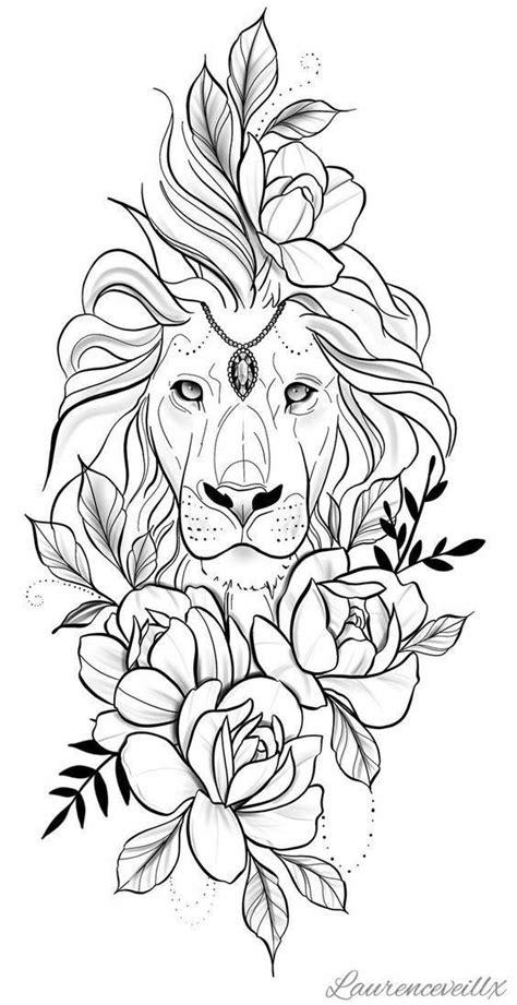 crazy pattern tattoos #Patterntattoos in 2020 | Lion