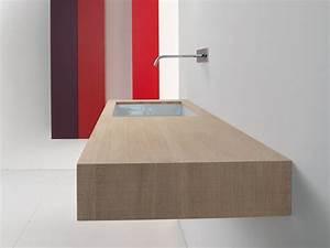 Plan De Toilette Ikea : piano lavabo singolo in rovere taglio sega naturale block2 ~ Dailycaller-alerts.com Idées de Décoration