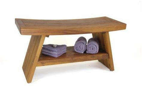 teak shower bench ebay