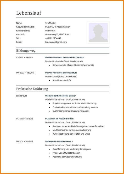 Lebenslauf Schüler Vorlage by 20 Lebenslauf Vorlage F 252 R Sch 252 Ler Soleatablao