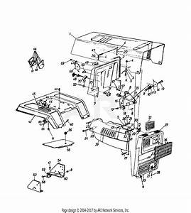 Mtd 14as83ah000  1997  Parts Diagram For Dash  Side Panel