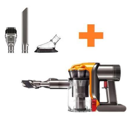 home depot dyson fan dyson dc34 cordless handheld vacuum with bonus accessories