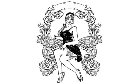 Pinup Girls Vector Pack By Go Medias Arsenal