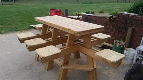 build   seat bar stool picnic table chapter