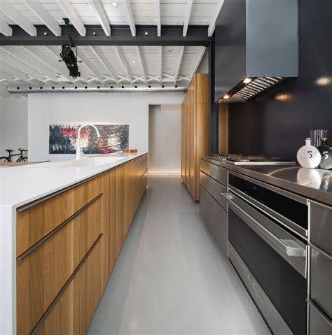 nouvelle cuisine montreal rénovation d 39 un loft industriel design