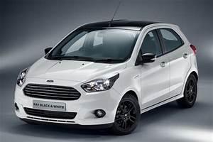 Ford Ka Interieur : ford ka black white edition la nouvelle ka en noir et blanc l 39 argus ~ Maxctalentgroup.com Avis de Voitures