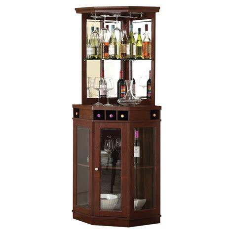 kitchen bar furniture corner bar unit mahogany home source brown products