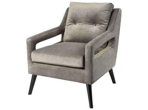 ls plus furniture ls plus accent chairs dimond home fleetwood grey accent