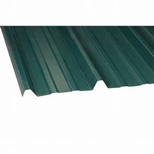 Plaque Archi Leroy Merlin : plaque nervur acier galvanis vert l x l 2 m leroy ~ Zukunftsfamilie.com Idées de Décoration