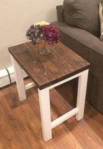 Diy, Modern, End, Table