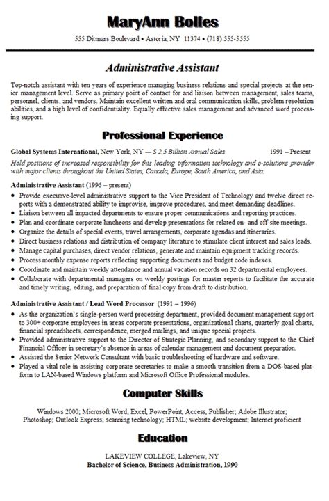 administrative assistant resume l r administrative assistant resume letter resume