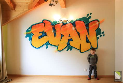 cours de cuisine pour enfants chambre graffiti pour enfant graffeur suisse