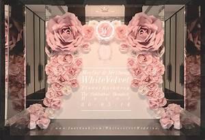 Wedding backdrop decoration velvet is white for Backdrop decoration for wedding