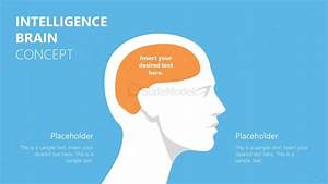 Intelligence Brain Human Head Shape Ppt